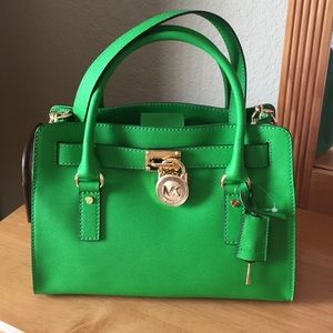 7135b8cde88a Michael Kors Bags - Michael Kors Selma Bag Saffiano Leather Emerald