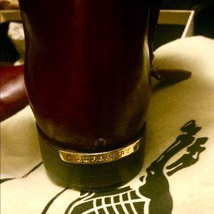 Burberry Copse Riding Boots, Bourdeaux Sz 36.5 EUC
