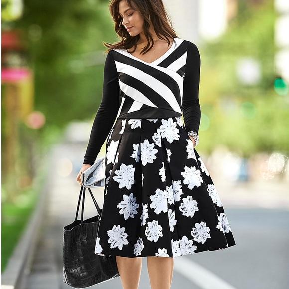 e9bc02bb75 Lane Bryant Skirts   New Floral Box Pleat Skirt Plus Size   Poshmark