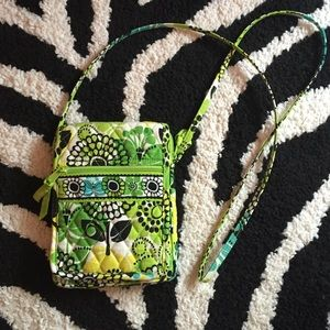 Vera Bradley cross body limes up bag