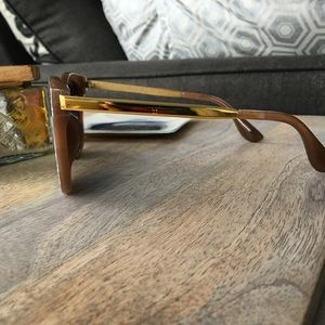 April Spirit Accessories - Brown Marbled Sunglasses