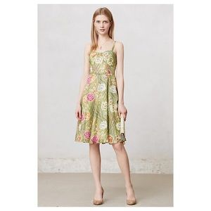 Anthropologie Rose Bramble Sundress