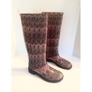 Missoni Shoes - Missoni  Mauve & Grey Rainboots