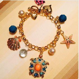 Jewelry - ✴️BETSEY JOHNSON TURTLE NECKLACE➕BRACELET BUNDLE✴️