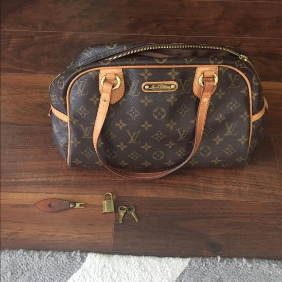cbe981287cff Louis Vuitton Handbags - 100% Authentic Louis Vuitton Montorgueil PM Bag!👜