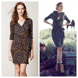 Anthropologie Lena Wrap Dress