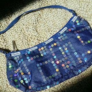 LeSportsac Handbags - LeSportsac Sequin Purse