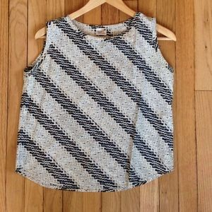Vintage Indonesian Cotton Printed Tank Size Small
