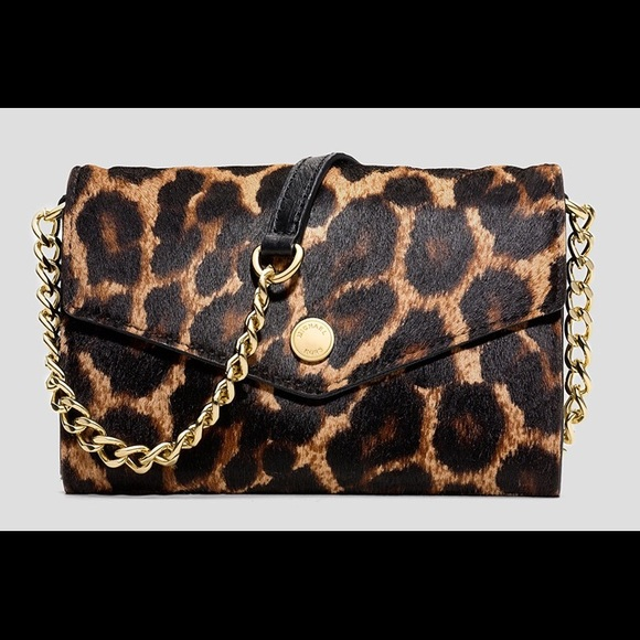 d95981600088 Michael kors leopard calf hair cross body bag. M_57359802a88e7d4bed024443
