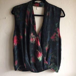 NEW Haute Hippie Silk Top