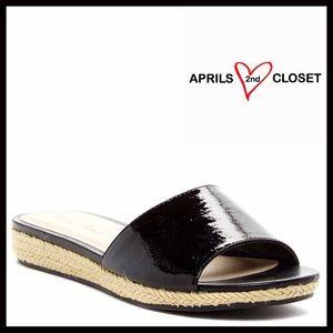 Boutique Shoes - SANDALS Slip On Espadrille Slides