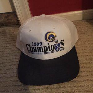 Vintage Rams 1999 champs snapback