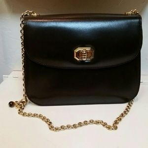 VTG Brown & Gold Gucci Purse! DUSTBAG INC!