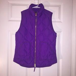 Jcrew factory puffer vest