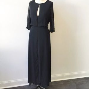 BCBGMAXAZRIA Black Long Dress