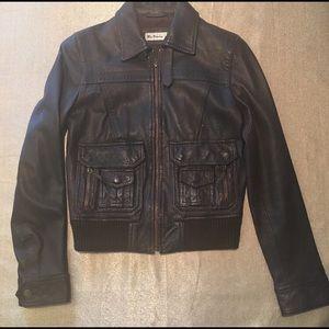 Ben Sherman Women's Leather Jacket