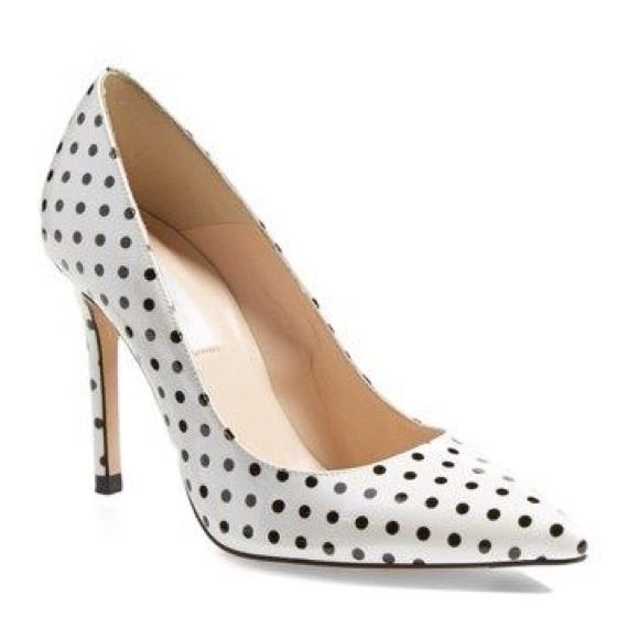aca18182c57 LK Bennett Shoes - L.K. Bennett Fern Polka Dot Pointed-Toe Pumps