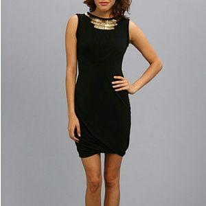 NWT Black Egyptian Style Cocktail Dress Sz 8