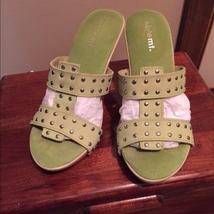 Shoes - Lime Green High Heels