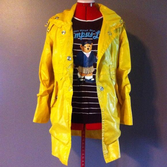 Modcloth Jackets Coats Yellow Coraline Spring Rain Coat Poshmark