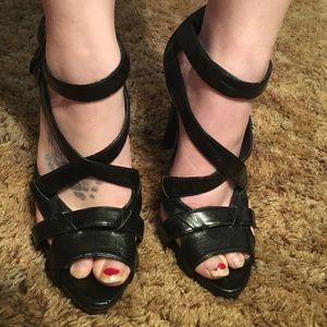 Sky high heels