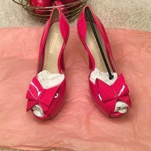 River Island Shoes - NWT river island peep too pumps!
