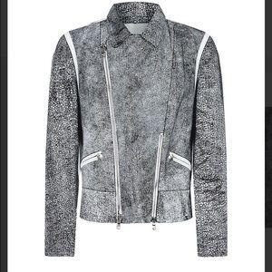 3.1 Phillip Lim Cracked Leather Jacket NWT