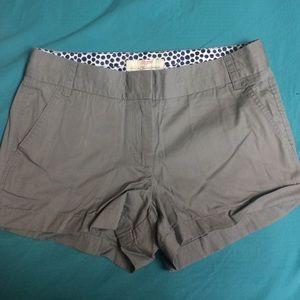 NWOT J. Crew Chino Shorts
