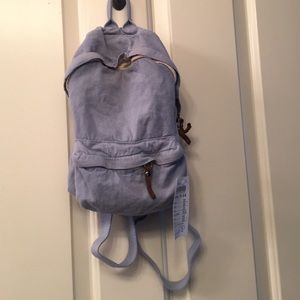 John Galt Pastel Blue Mini Backpack