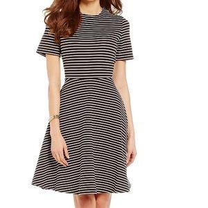 Alex Marie Dresses & Skirts - Alex Marie Black and White Striped Dress