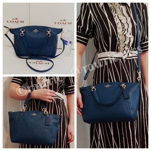 3dde18b209d83 Coach Bags | New Pebbled Leather Small Kelsey Satchel | Poshmark