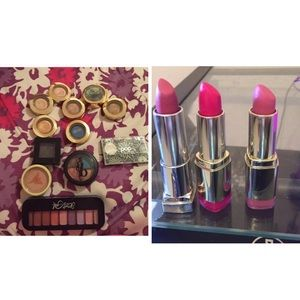 Eye shadow  & lipsticks bundle