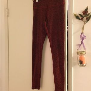 6c861dead99bb Beyond Yoga Pants - Beyond Yoga Red Space Dye Leggings, Small