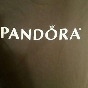 Black PANDORA shirt top sz. XL nwot