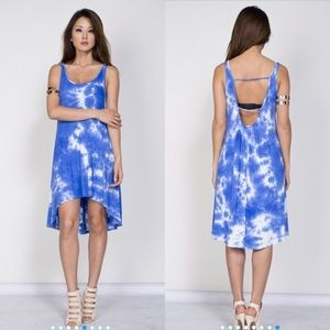 Dresses & Skirts - CLOSET CLEAR OUT Tie Dye Hi-Low Jersey Dress