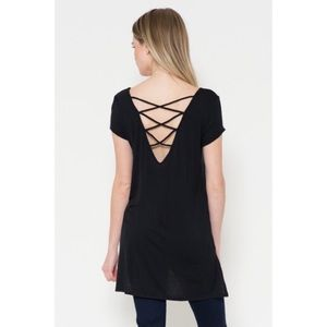 Tops - 1 HOUR SALE!! Cap Sleeve Strappy Top