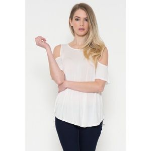 Tops - Cold Shoulder Top