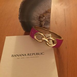 Banana Republic Pink/Gold Cuff