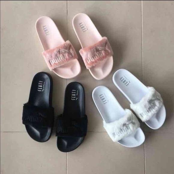 fenty puma slippers price