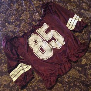 #85 Crop Top Jersey Sz. XL
