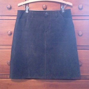 SO Dresses & Skirts - SALE! SO...GSJC sz 9 brown genuine suede skirt