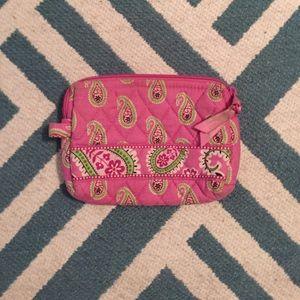 🌷Vera Bradley small cosmetics bag