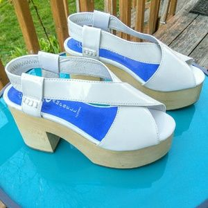 Jeffrey Campbell Shoes - NWOT Jeffrey Campbell White Patent  Falk Platforms