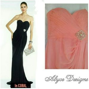 Alyce Paris Dresses & Skirts - 💕PROM SALE💕 BEAUTIFUL ALYCE  CORAL  PROM DRESS
