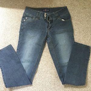 New Attitude Jeans - button top