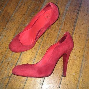 Kelsi Dagger Shoes - Kelsi Dagger Red Pumps