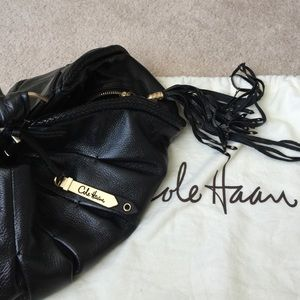 044f6e7e30e305 Cole Haan Bags - Cole Haan Phoebe Triple Zip leather handbag