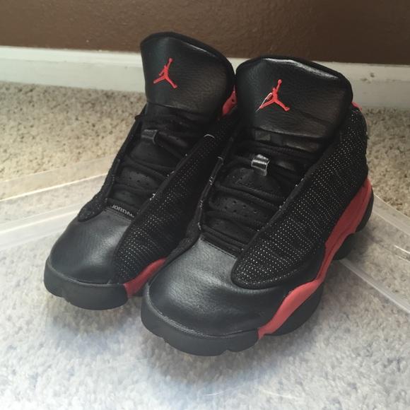 premium selection b3ceb ef852 Black and Red Air Jordan 14s - Size 4.5