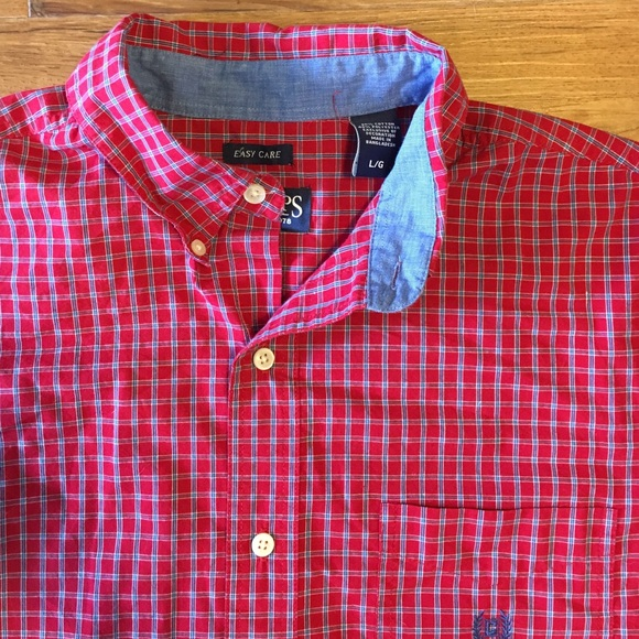 80 off chaps tops chaps button down dress shirt from for Chaps button down shirts