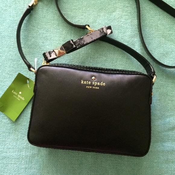 b4a11328229d Kate Spade Highliner Clover Cross Body Bag